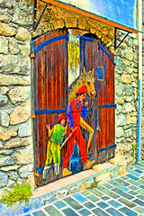 Gorbio (Provence Alpes Cte Azur) HDR_02 (papy06200) Tags: hdr hdrenfrancais hdraward