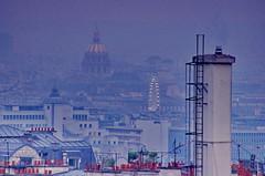 Paris, la Grande Roue de la Place de la Concorde et le dme des Invalides (paspog) Tags: paris france roofs toits decken toitsdeparis roofsofparis