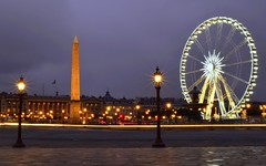 Place de la Concorde at dusk, Paris (Sir Francis C