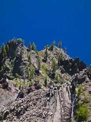 Oregon 2011 - 14 (Brian Hirschfeld Photography) Tags: lake oregon digital 50mm waterfall rainbow h3 long exposure guitar falls hasselblad h chipmunk crater medium format jacques hc f28 gitzo 1923 80mm f35 h4 sahalie 150mm f32 vidae h4d h3dii39ms h4d50 lipchitzs