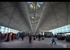 Hongkong Airport Interior