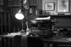 Jack London at Work (SP8254) Tags: california light lamp typewriter northerncalifornia studio office budget den cottage bookshelf bayarea writer sonomacounty sonomacountyca closing cuts glenellen jacklondon californiastatepark valleyofthemoon funding budgetcuts glenellenca sonomamountain jacklondonstatepark parkclosure jacklondoncottage
