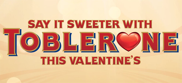 Say it Sweeter with Toblerone