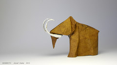 MAMMOTH (2012) (Zsebe Origami) Tags: origami mammoth zsebeorigami