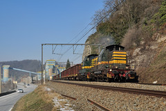 8270+8263, Marche-les-Dames (RobbyH83) Tags: 82 nmbs marchelesdames blogistics