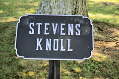 2011-09-18 (263) Slocum Avenue (JLeeFleenor) Tags: me sign maine gettysburg civilwar artillery guns battlefield cannons gettysburgpa battleofgettysburg gettysburgbattlefield gunposition stevensknoll slocumavenue