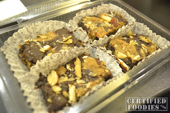 Dark Chocolate Walnut Revel Bars from Sweet Beginnings Patisserie