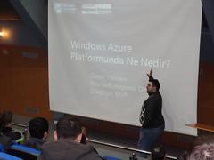 Daron Yöndem Windows Azure sunumunda