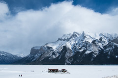 On Lake Minnewanka