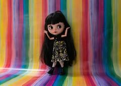 Blythe a Day 17 April 2014 - Rainbow Brights