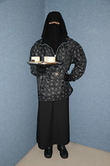 Slave Waitress (Buses,Trains and Fetish) Tags: hot girl warm hijab torture sweat waitress niqab maid anorak slave burka chador