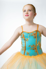 (wild.eric) Tags: blue portrait ballet orange girl studio dancer tutu hikey
