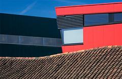 Contrasting shapes (jefvandenhoute) Tags: light lines photoshop nikon belgium belgique belgie shapes d800 rumst