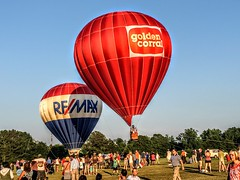 The WRAL FreedomFest My Favorite Photo Taking Pictures North Carolina JustGPhotos Hot Air Balloons Hot Air Balloon Festival Fun Summertime Fuquay Varina United States (Gwen Sutton) Tags: fun unitedstates northcarolina summertime hotairballoons takingpictures fuquayvarina myfavoritephoto hotairballoonfestival justgphotos