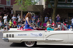 Miss Washtenaw County, 2015, Alexandria Strother (marylea) Tags: classic car community classiccar michigan parade dexter thunderbird memorialday 2015 may25 memorialdayparade washtenawcounty misswashtenawcounty alexandriastrother