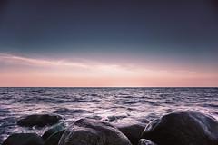 DSC07262-2 (Ricardo Fischer) Tags: ocean sea germany sundown sony balticsea rgen sonyalpha sel1650 sonyalpha6000 sonya6000 alphaddicted
