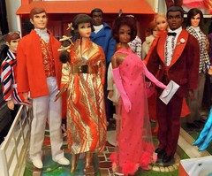 DOUBLE DATE PART 2 (ModBarbieLover) Tags: 1969 mod doll ken barbie christie 1968 tnt curtis eveningwear