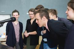 IMG_5445 (Aneta Urbon) Tags: school people students high model european shot group parliament indoor indoors politicians inside lithuania lithuanian mep meplt mepsiauliai