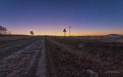 Farm Road (Willper Edward) Tags: road morning silhouette sunrise canon landscape southafrica photography countryside scenery flickr skies outdoor farm may sigma explore serenity bluehour flickrexplore orms