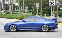Nissan Skyline GTS-T (R33) (RudeDude2140a) Tags: blue sports car skyline nissan exotic r33 coupe gtst