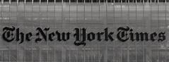 The New York Times Building Panorama (LJS74) Tags: nyc newyorkcity blackandwhite bw monochrome manhattan thenewyorktimes stitchedpanorama