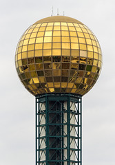 The Wigsphere (Eridony) Tags: downtown knoxville tennessee sunsphere observationtower knoxcounty constructed1982