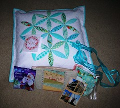 Received from Trudy (sewjo2009) Tags: wow what cushion received