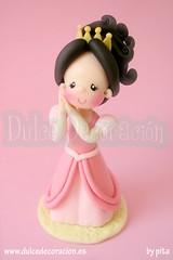 Muñeca princesa personalizada Andrea