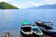 Tongging - Lake Toba Boats (Drriss & Marrionn) Tags: travel nature sumatra indonesia landscape rainforest southeastasia jungle tropics laketoba volcaniclake tongging flickrestrellas flickrtravelaward