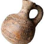 "<b>Oil Cruse</b><br/> Oil Cruse Ceramic, 1000 BCE Origin: unknown LFAC# 647<a href=""//farm8.static.flickr.com/7155/6419590745_a6b5f715ff_o.jpg"" title=""High res"">∝</a>"