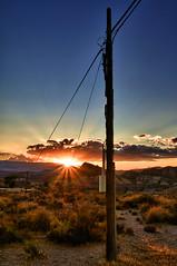 Tabernas colour (dubdream) Tags: blue sunset sky colour clouds landscape andalucía spain sony hdr almería tabernas a55 dubdream