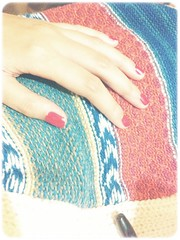red nails (whitedawn) Tags: red sweater nail
