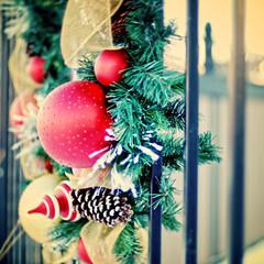 Fence Friday - Start of the Holiday Season Edition (Grapefruit Moon (Barb)) Tags: christmas hff fencefriday