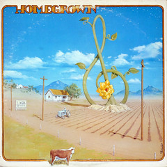 Homegrown 3 - Clouds (epiclectic) Tags: sky music art field rock illustration clouds radio vintage cow graphic sampler sandiego farm album vinyl retro collection jacket cover lp 1975 record sleeve compilation kgb variousartists epiclectic