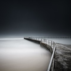 Collaroy (Noval N | Photography) Tags: longexposure morning seascape beach misty sydney australia tidalpool rockpool