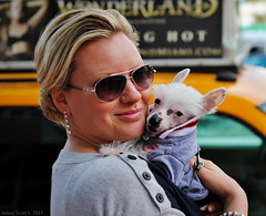 2011-12-04 60D Lincoln Rd Miami Beach 029 (James Scott S) Tags: life road street portrait people urban usa dog beach glass girl smile lady canon puppy scott eos james florida miami south united chinese lincoln l fl states usm dslr hairless crested ef rd 2470mm f28l 60d