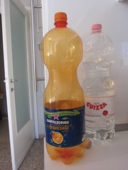 Two Litres (Mi-Wu) Tags: two italy milan bottle italia milano plastic orangina liter litre guizza