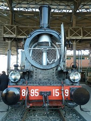 La Locomotiva (Marco M82) Tags: italy italia panasonic piemonte piedmont binari locomotiva 2011 vapore savigliano museoferroviariopiemontese dmctz10 panasonicdmctz10