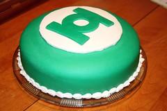 Green Lantern Cake #1 (AmyBourbonnais) Tags: birthday cake awesome birthdaycake superhero greenlantern fondant amybourbonnais