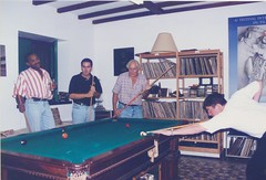 Snooker in Rio with friends (Ronnie Biggs The Album) Tags: ronnie biggs greattrainrobbery oddmanout ronniebiggs ronaldbiggs