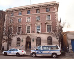 P032 NYPD Police Station Precinct 32, Harlem, New York City (jag9889) Tags: county city nyc blue house ny newyork building cars car station architecture automobile harlem manhattan police nypd company transportation vehicle borough van 32 department lawenforcement finest precinct 2011 firstresponders newyorkcitypolicedepartment p032 precinct32 y2011 jag9889