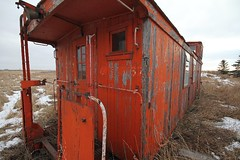 Caboose (skram1v) Tags: train caboose restoration dwelling railwaycar