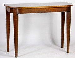68. Mahogany Console Table