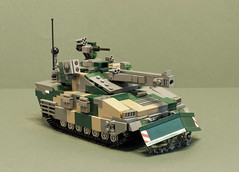 "CV-120A2 ""Charger"" Light Tank (Aleksander Stein) Tags: light fire support tank lego military mortar vehicle amos charger 120mm ndc hgglunds mrsi cv120"