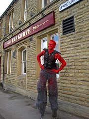 Get into The Grove (RoystonVasey) Tags: red house west rock canon giant real pub inn grove magic yorkshire ale ixus launch 95 huddersfield