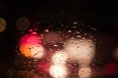 rainy nite fun (dennisinst.louis) Tags: rain pentax stlouis 50mmf14 foolingaround fastprime abstrack imcrazy bokehdots foolintherain k20d