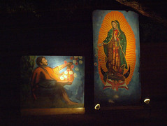 Virgen de Guadalupe at Winterhaven, 2011 (Distraction Limited) Tags: christmas arizona tucson christmaslights festivaloflights virgendeguadalupe winterhaven winterhavenfestivaloflights