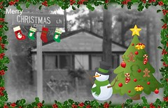 """Tenderness and kindness are not signs of weakness and despair, but manifestations of strength and resolution."" - Kahlil Gibran (baltic_86 (mostly off)) Tags: snowman christmastree card merrychristmas picnik happynewyear holidayseason baltic86"