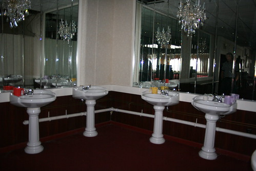 Sinks in the dining room