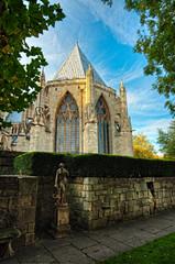 York Minster_261011_0297 (Steve Bark) Tags: york uk england house building history architecture religious nikon religion sigma christian historical minster hdr treasurers d700